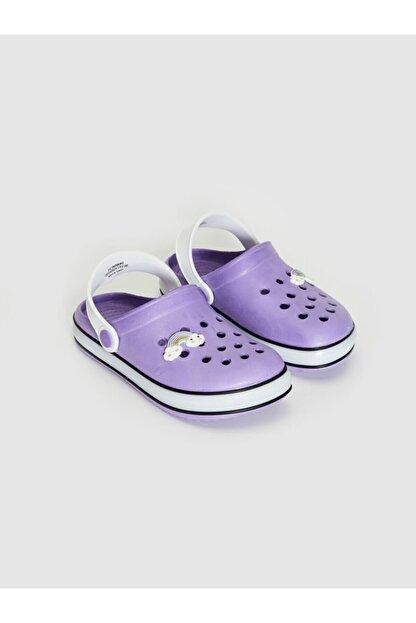 LC Waikiki Kız Çocuk Lila Dp3 Sandalet