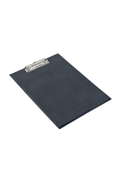 KRAF A4 Kapaksız Sekreterlik  Dosyası Üstten Klipsli Siyah
