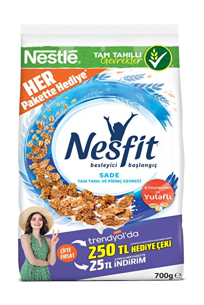 Nestle Nestle Nesfit Tam Buğday Ve Pirinç Gevreği 700 gr