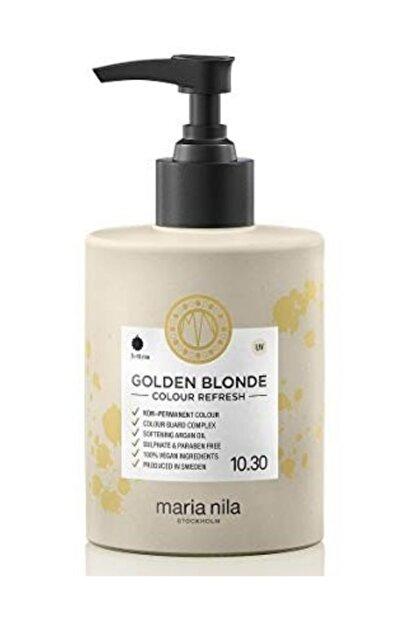 Maria Nila Cr 10.30 Golden Blonde Pigment Maske 300ml 7391681037052