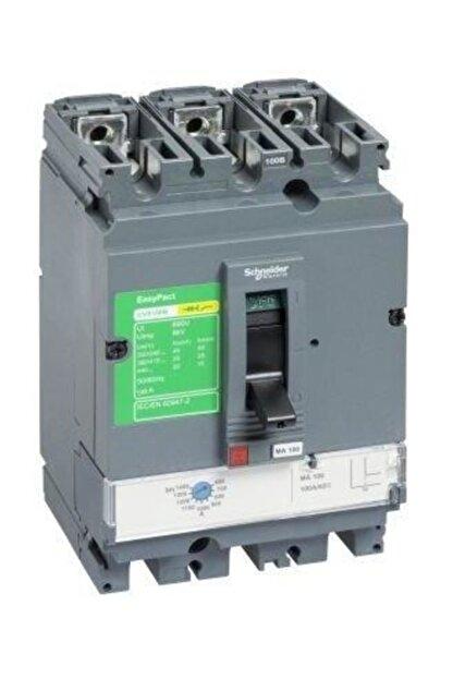 Schneider 70-100 Amp Easy Pact Cvs 3 Kutup 380v Ac 25ka Kompak Şalter