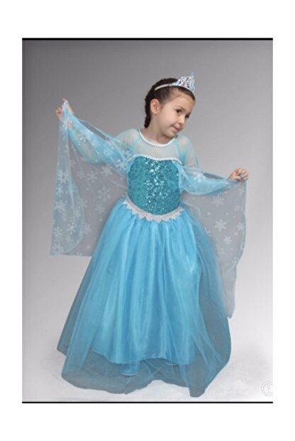 Lady Lou Kabarik Elsa Kostumu Karlar Ulkesi Elsa Elbise Kostum Frozen Trendyol