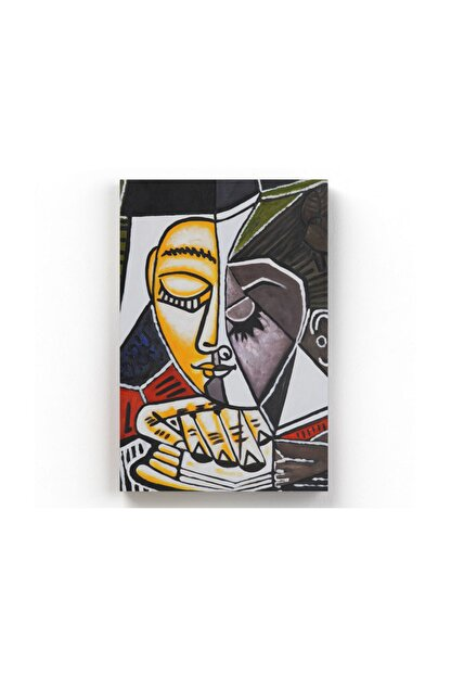 Tablo365 Pablo Picasso Kitap Okuyan Kadın Kanvas Tablo 70 X 105 cm Tb-2526Ub