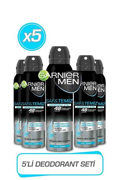 Garnier 5'li Men Saf Ve Temiz Aerosol Seti