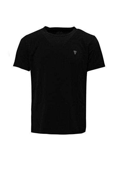 Lufian Pablo Basic T- Shirt Siyah