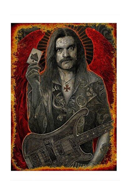 Tablomega Iskambil Kağıdı Rockçı Art Mdf Poster