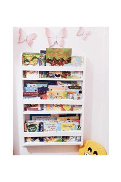 ue mobilya Montessori Kitaplık 3 Raflı