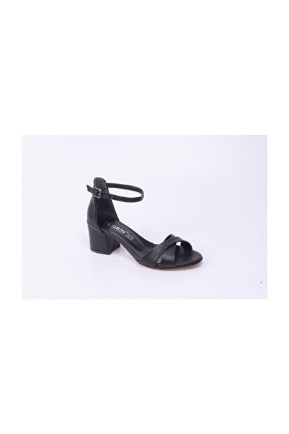 Ayakkabin11 Kadın Tek Bant Topuklu Ayakkabı