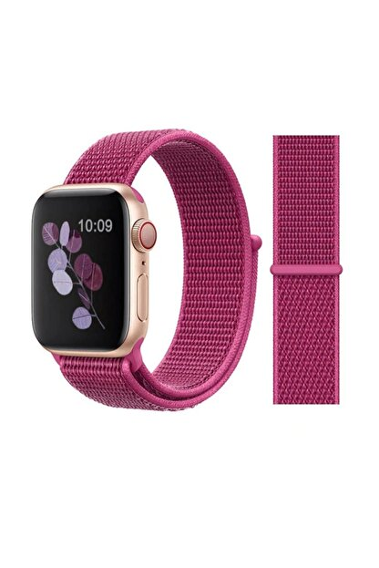 Miyosa Apple Watch 42 Mm Spor Loop Naylon Kayış Dragon