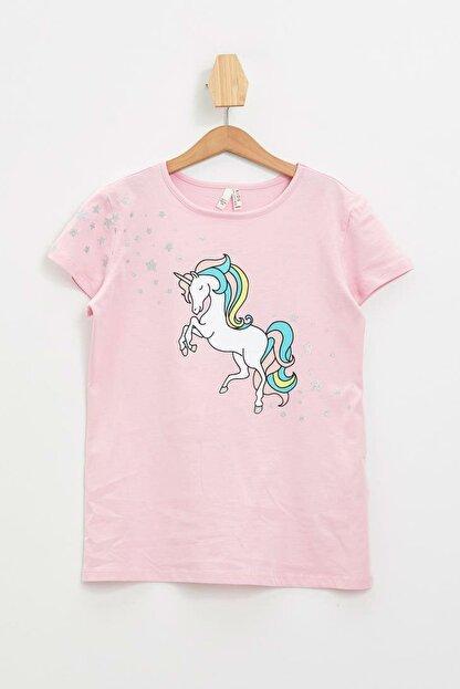Defacto Unicorn Baskılı Kısa Kollu T-shirt