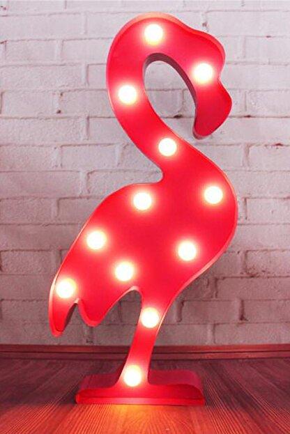 Buffer Flamingo Ledli Dekoratif Masa Ve Duvar Lambası