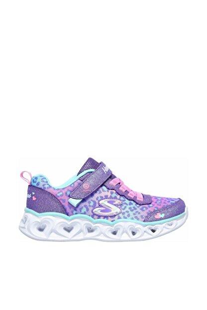 Skechers Büyük Kız Çocuk Mor Spor Ayakkabı
