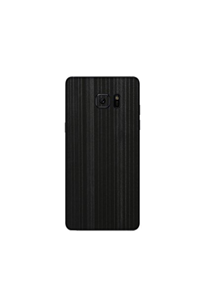 KAPAK OLSUN Samsung Note Fe Parlak Çizgili Siyah Telefon Kaplaması