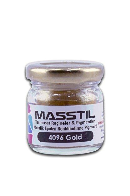 Masstil Epoksi Masstil Metalik Toz Pigment Gold 10 Gram