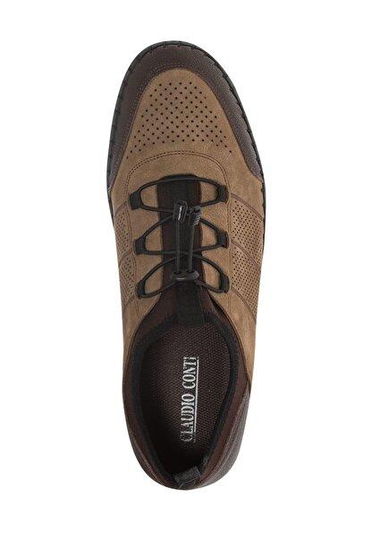 Claudio Conti Deichmann Hakiki Deri Tütün Rengi Erkek Bağcıksız Ayakkabı