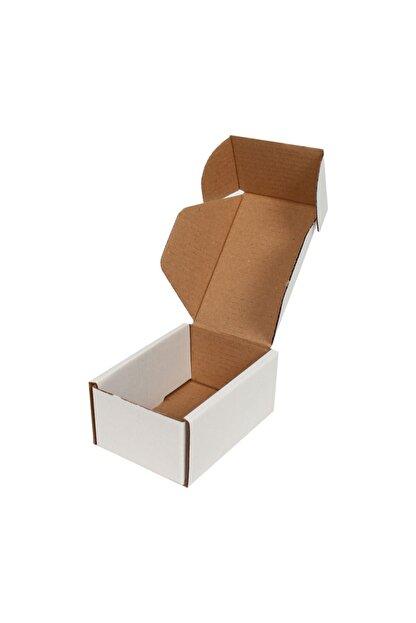 Kolicim 10x7x4,5cm Beyaz E-ticaret Kargo Kutusu [10 Adet]