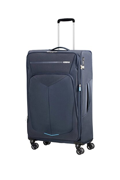 American Tourister Lacivert Unisex Summerfurk Spinner 4 Tekerlekli 79Cm 44674