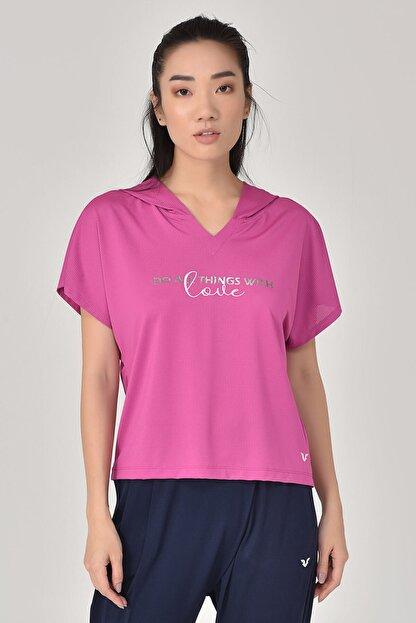 bilcee Pembe Kadın T-Shirt GS-8607