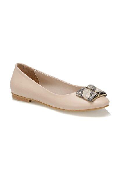 Butigo 19S-203 Bej Kadın Topuklu Ayakkabı 100371324