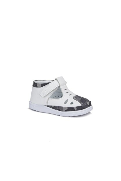 Vicco Erkek Çocuk Beyaz Diego Ilk Adım Deri Ayakkabı