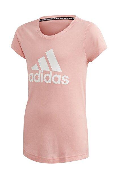 adidas FM6512-C adidas Yg Mh Bos Tee Çocuk T-Shirt Pembe