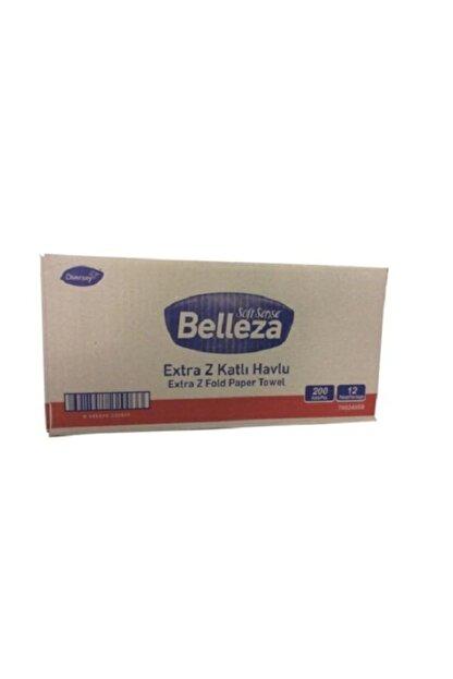 BELLEZA Extra Dispenser Havlu 200'lü X 12 Paket