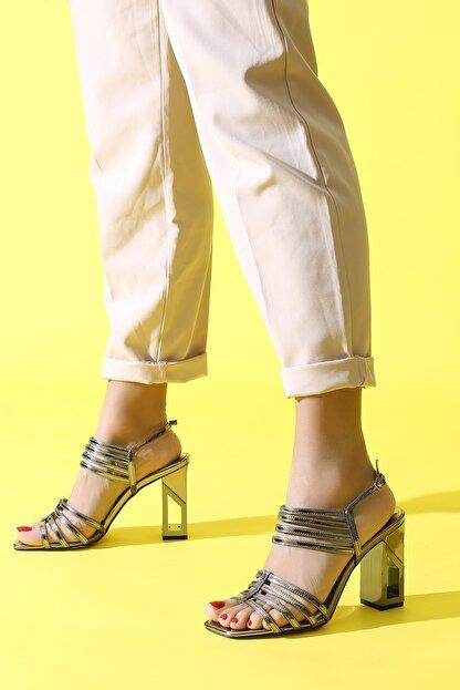 ALTINAYAK Platin Kadın Abiye Ayakkabı 339.002001
