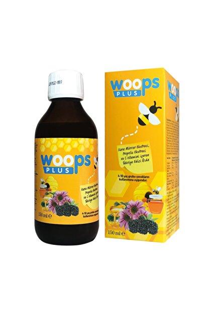 Woops Plus Saf Propolis, Kara Mürver (sambucus Nigra) Ekstresi, C Vitamini, Beta Glukan, Üzüm Tohumu