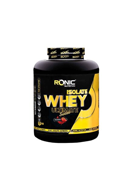 Ronic Nutrition Whey İsolate Protein Tozu Çilek Aromalı 2270 Gr + 3 Adet Hediyeli
