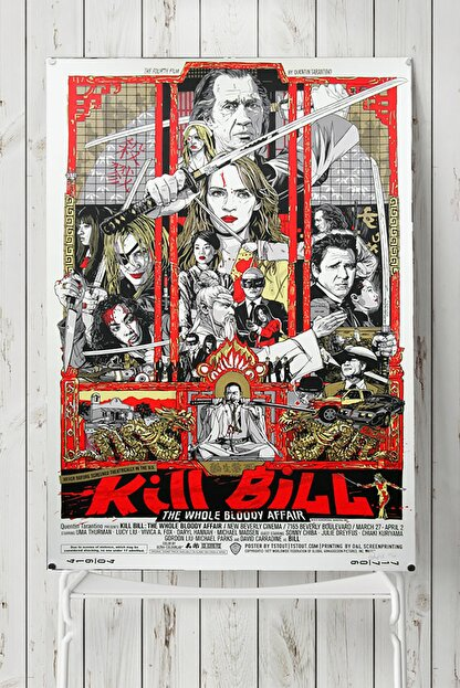 Postermanya Kill Bill Film Afişi Poster (50x70cm)