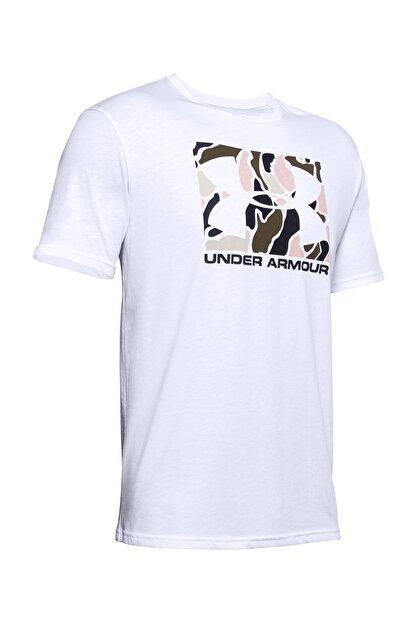 Under Armour Erkek Spor T-Shirt - UA Camo Boxed Logo Ss - 1351616-101