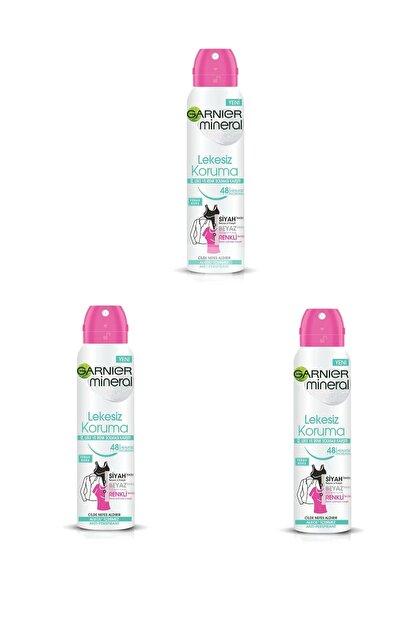 Garnier 3 Lü Set Anti - Perspirant Sprey Deodorant - Lekesiz Koruma 150 Ml 3600541928879