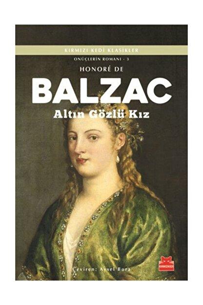 Kırmızı Kedi Yayınları Altın Gözlü Kız / Onüçlerin Romanı 3 - Honore de Balzac
