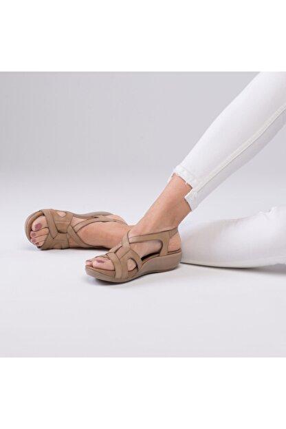 Zeynep Sıradağlı Orfeo Sandalet Kum