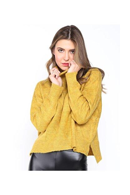 Twister Jeans Bt Bayan Triko 2232 Safran
