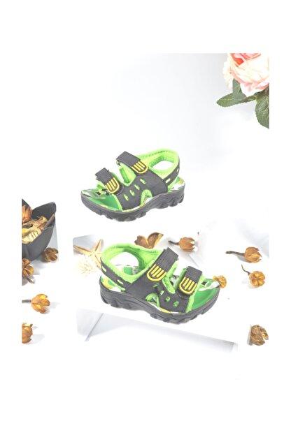 Polaris Erkek Çocuk Yeşil Sandalet