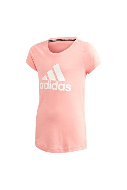 adidas Kız Çocuk Pembe Must Haves Badge T-Shirt Fm6512
