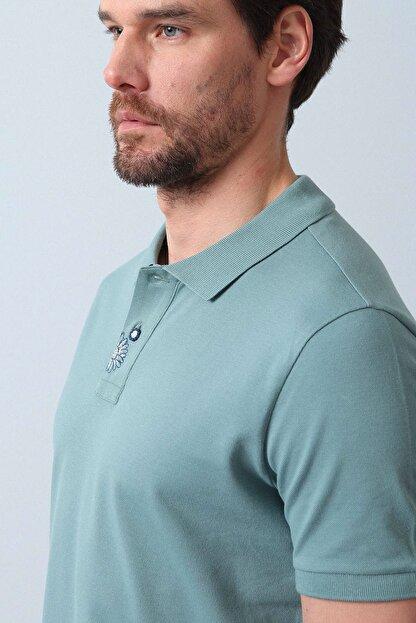 Ramsey Erkek Açık Yeşil Örme T - Shirt RP10119916