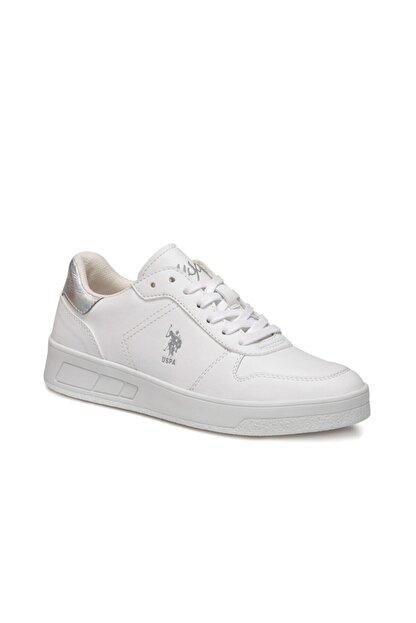 US Polo Assn Stıll Beyaz Kadın Sneaker