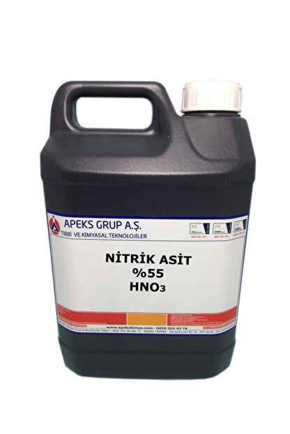 APEKS Nitrik Asit - %55 - Hno3 - 5 kg