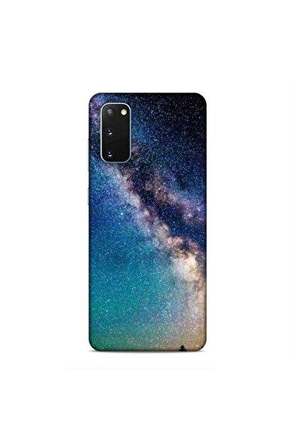 Pickcase Samsung Galaxy S20 Kılıf Desenli Arka Kapak Geceye Bakış