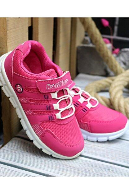 Trendway Kız Çocuk Pembe Spor Ayakkabı