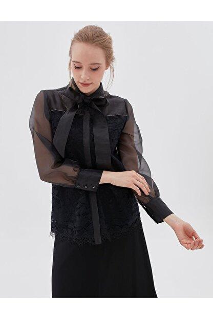Kayra Kadın Siyah Bluz Ka-b20-10072