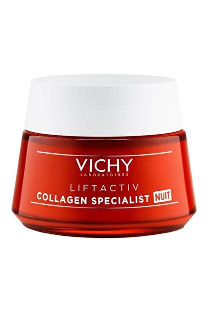 Vichy Liftactiv Collagen Specialist Yaşlanma Karşıtı Gece Kremi 50 ml 3337875722520