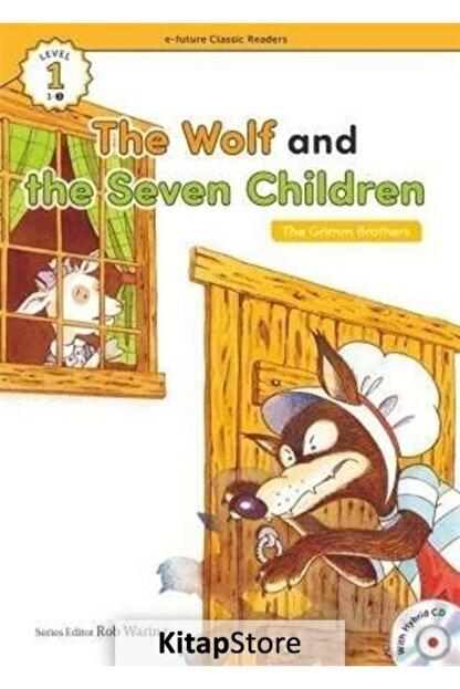 E-Future Yayınları The Wolf And The Seven Children +hybrid Cd (ecr Level 1)