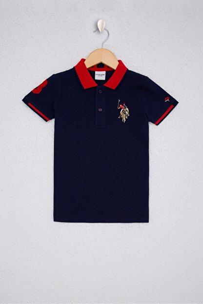 US Polo Assn Lacıvert Erkek Çocuk T-Shirt