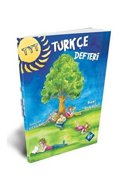 KR Akademi Yayınları Tyt Türkçe Defteri