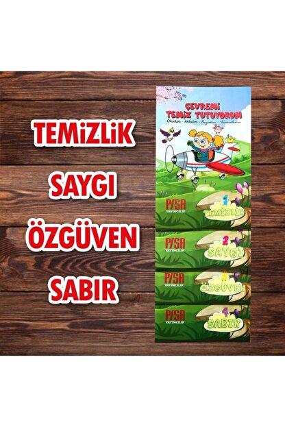 Harika Çocuk Yayınları 4 - 7 Yaş Boyamalı Değerler Eğitimi Hikaye Seti 4 Kitap