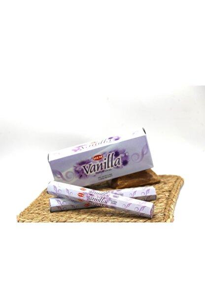 YakupBabada Hem Vanilla Çubuk Tütsü - Vanilya Kokusu (20 Adet)
