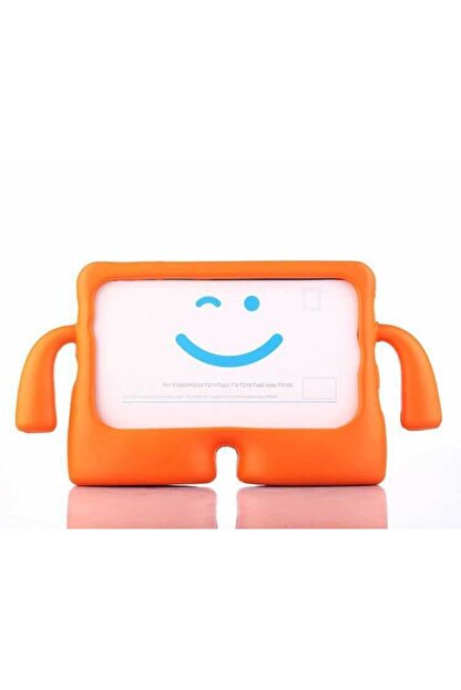 ZMOBILE Apple Ipad 7. Nesil 10.2 Inç Standlı Eğlenceli Çocuk Kılıfı Silikon Tablet Kılıfı Kids Case